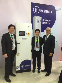 Heateflex and SCH with fluid heater at SEMICON China